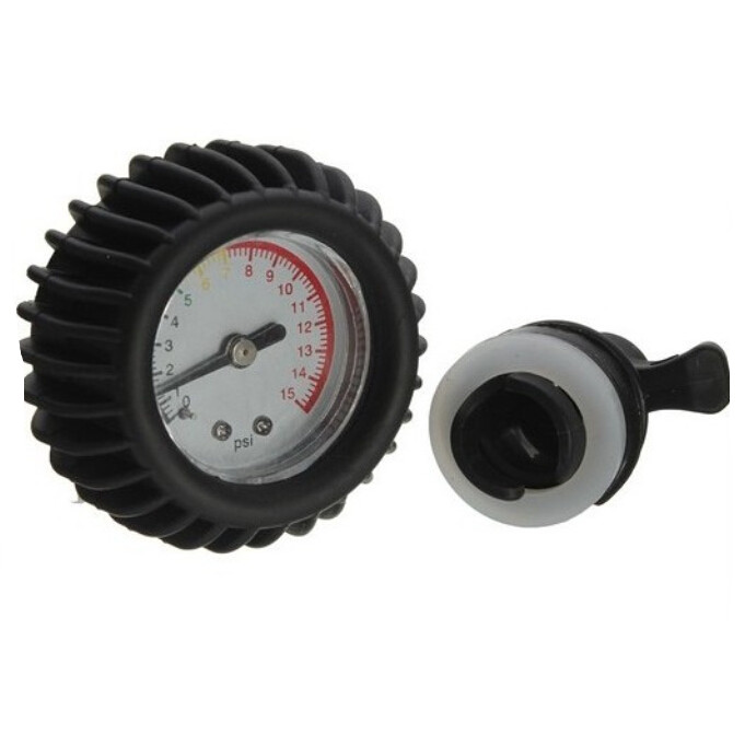 Inflatable Boat Pressure Gauge Meter, Thermometer For PVC Boat,Kayak Air Pressure With Valve Connector(China (Mainland))