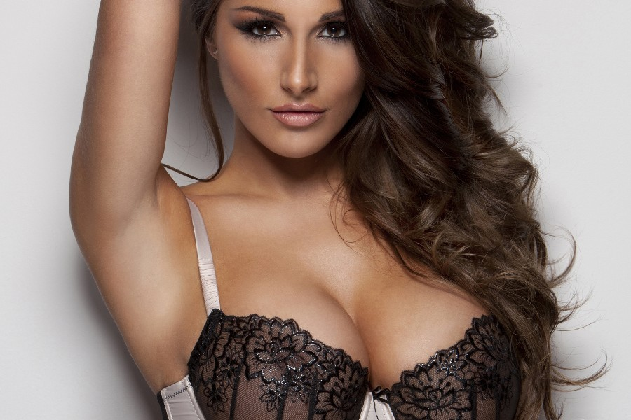Football Baby Lucy Pinder sexy poster girl model fabric silk poster printing Home Decoration great pictures on the wall MX0924-4(China (Mainland))