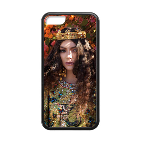 Lorde Tennis Court Case for iPhone 5c Fun Phone Cases(China (Mainland))
