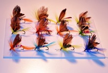 24pcs/lot various fly fishing lures, 20mm Dry Fly, Wet Fly, Nymph and Streamer Fly Lure Assotment(China (Mainland))