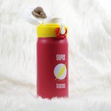 HADELI милый мультфильм garrafa termica Термокружка термос нержавеющая сталь вакуумная колба для детей девочек мужчин бутылка воды 350 мл/500 мл(China)
