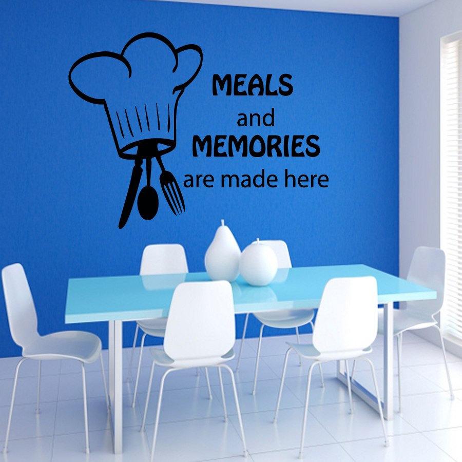 Muurstickers Keuken Bestek : Online kopen Wholesale chef muur decor uit China chef muur decor