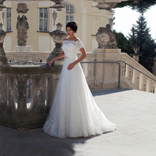 Buy New 2017 Full Appliques Back Sexy Boho Wedding Dress Sleeves Lace Wedding Gown Bride Dress Vestido De Noiva Robe De Mariage for $133.65 in AliExpress store
