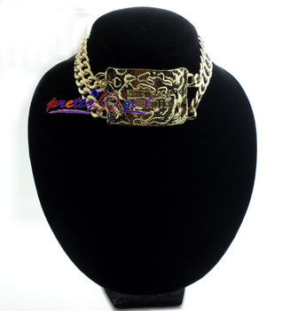 2013 Designer Jewelry Fashion Celebrity Street Style Thick Gold Chain  Chunky Necklace free shipping,JP042716