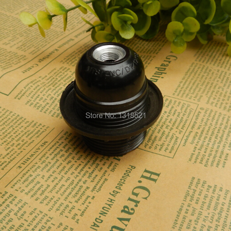 E26/E27 black teeth all knob and VDE certification big screw cap lamp wall lamp droplight dedicated DIY accessories lamp holder(China (Mainland))