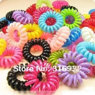 ladies hair rope ,telephone line hair ring