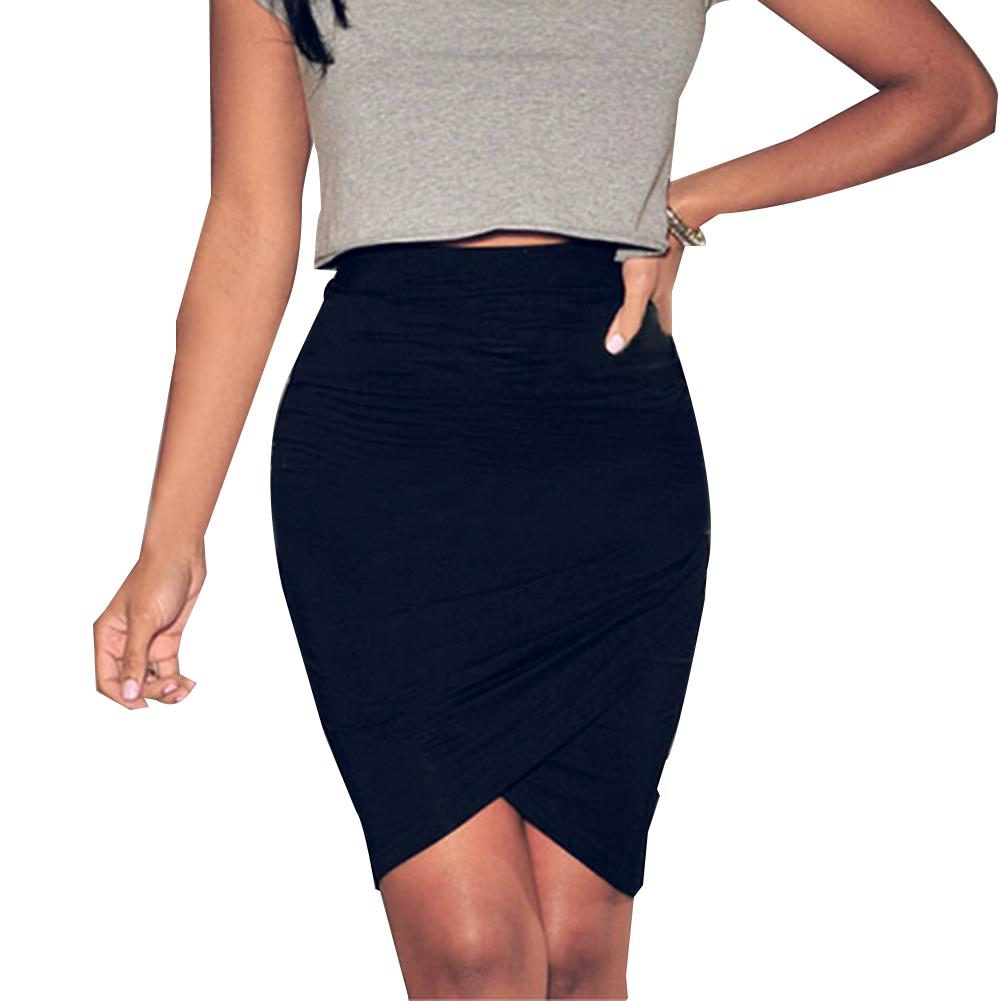 aliexpress buy wrap tulip ruched formal pencil skirt