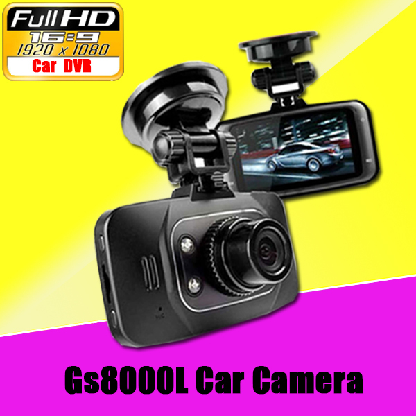 "Original GS8000L HD1080P 2.7"" Car DVR Vehicle Camera Video Recorder Dash Cam G-sensor HDMI(China (Mainland))"