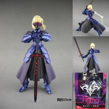 15cm fate stay night Saber Alter Action Figure Model Toy Sell come with retail box toy