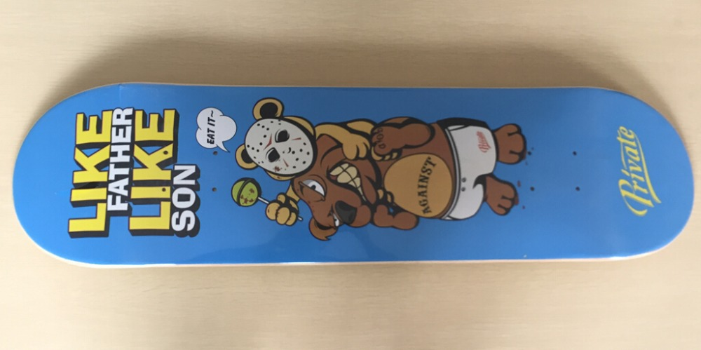 "2015 Free Shipping Street Decks Private Pro Skate Deck Maple Deck 8"" Skateboard Deck(China (Mainland))"