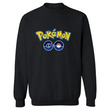 Pokemon Go Clothing Women/men Hoodie Sweatshirt Unisex Casual Warm Fleece Long Sleeve Pullover Couple Tracksuits Sport Suits