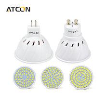 1Pcs LED Spotlight Bulb GU10 MR16 GU5.3 220V 230V 240V 48 60 80 LEDs CUP lamp Use In Downlight Kitchen light Indoor lighting(China (Mainland))