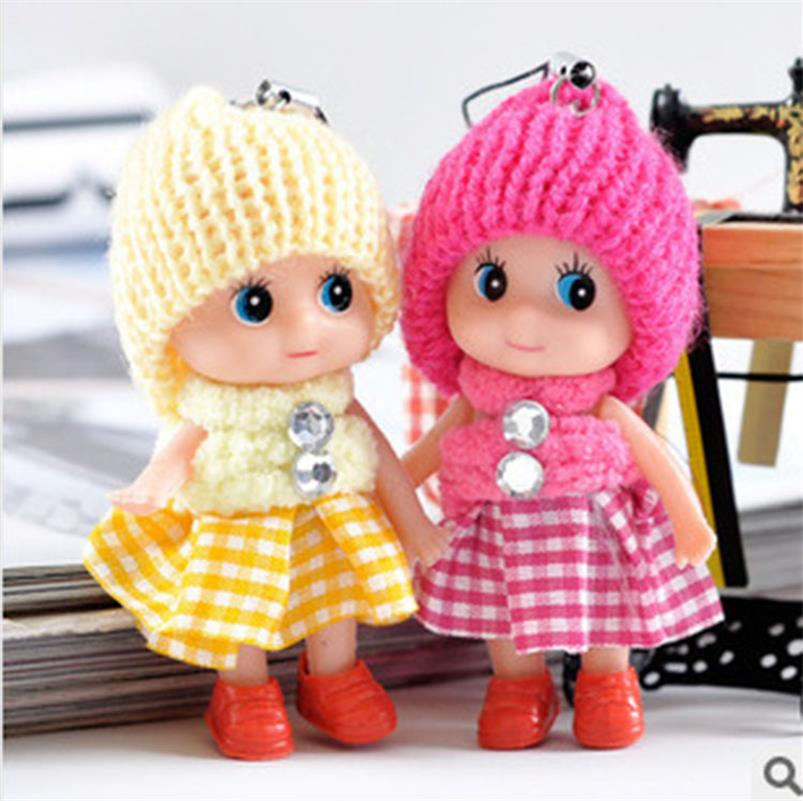 Kids Toys Soft Interactive Baby Dolls Toy Mini Doll For Girls Free Shipping(China (Mainland))