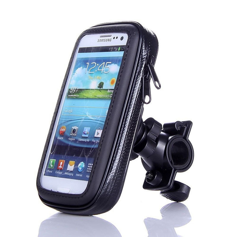 Bicycle Phone Holder for Samsung Galaxy Note 5 Bike Waterproof Case Bag for Samsung Note 5 Motorcycle Phone Case Phone Stand(China (Mainland))