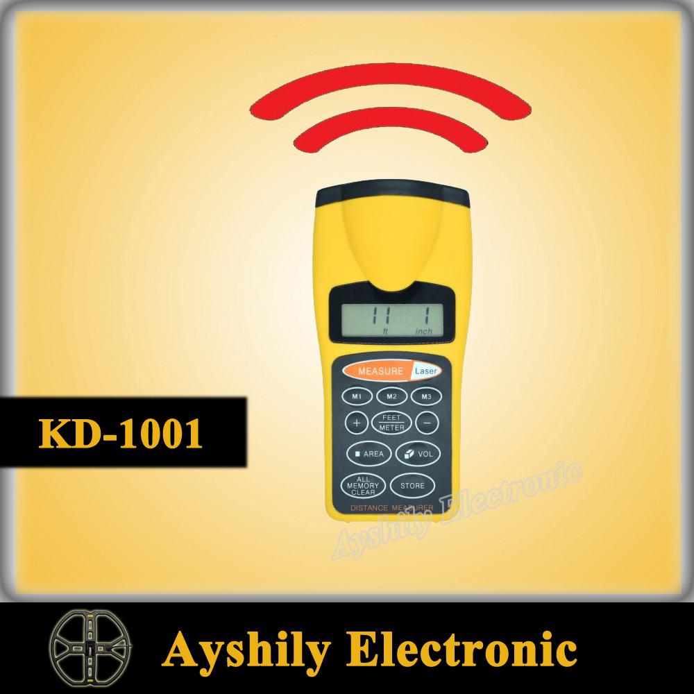 KD-1001 Handheld Laser Rangefinders Ultrasonic Distance Measurer Meter Range Finder<br><br>Aliexpress