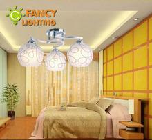 White glass lampshade Modern Ceiling Lamp E27 110V 220V ceiling light for living room/dinning room home decor Luces de techo(China (Mainland))