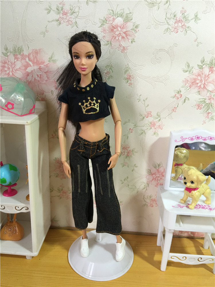 1 Pcs Trend Handmade Garments Attire For Barbiee  Doll Equipment & Disneyy  a520