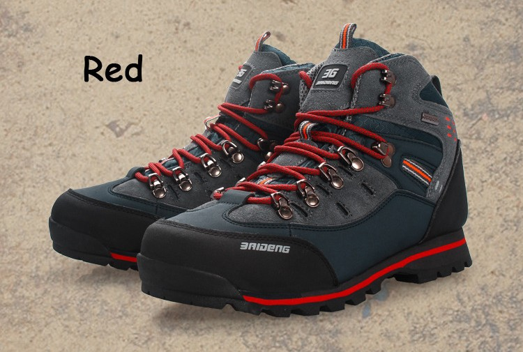 2015 New Mens Shoes Brand  Anti-skid Mountain Athletic Shoes