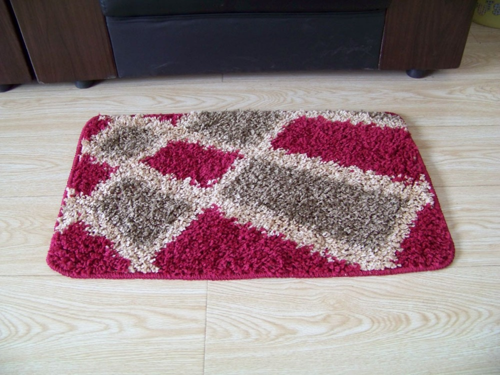 Plaid small rug bathroom doorway hallway and bedroom mat for Small rug for bedroom