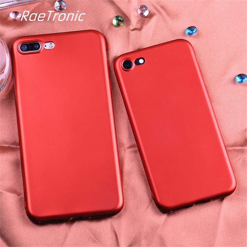 RaeTronic for Cover iPhone 6s Plus Case New Luxury Red Phone Cover for iPhone 7 7 Plus 6 Plus Sample Full Protection Fundas 105S(China (Mainland))