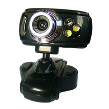 Factory price 20 Mega USB 3 LED Webcam Cam Camera PC Laptop + Mic PS May24 Free Shipping
