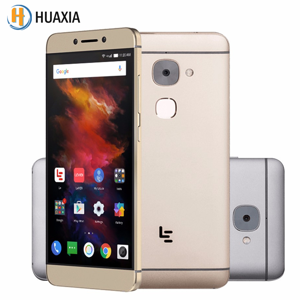LeEco Le S3 X622 Deca Core 5.5 inch 3GB RAM 32GB ROM Android 6.0 Letv 4G LTE Fingerprint 3000mAh 16.0MP Helio X20 Mobile Phone