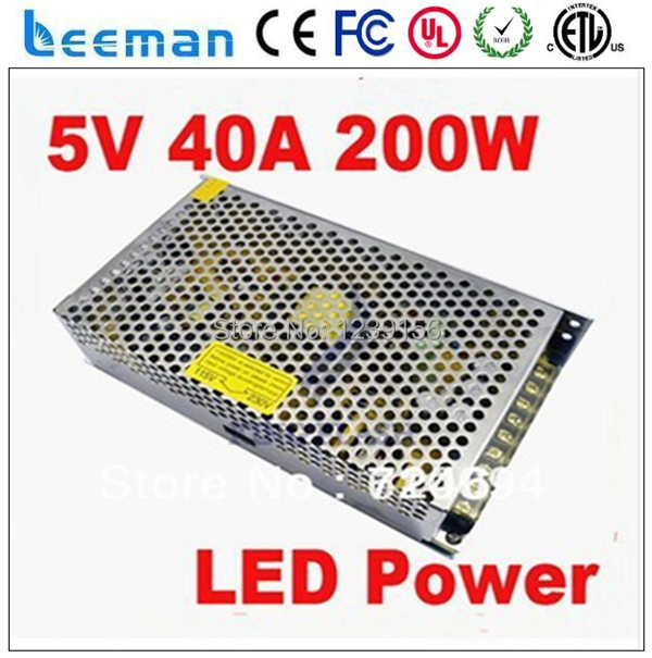 Free shipping Leeman UL CE RoHS Mean 200W Medical 5v 40a well switching power supply 200w <br><br>Aliexpress