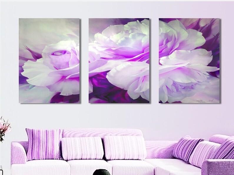 wei lila wand interessante ideen f r die gestaltung eines raumes in ihrem hause. Black Bedroom Furniture Sets. Home Design Ideas