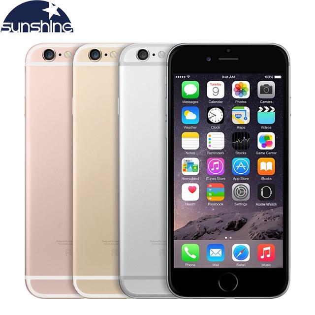Оригинальный Разблокирована Apple iPhone 6 S 4 Г LTE Мобильный телефон 4.7 ''МП IOS 9 Двухъядерный 2 ГБ RAM 16/64 ГБ ROM Смартфон
