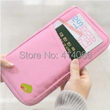 HOT 2105 NEW WELL Travel Passport ID Card Key Hand Zipper Case Bag Pouch Wallet Clutch