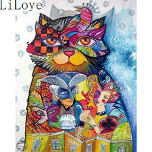 Buy Li Loye 5D Diamond Embroidery Icon Diy Diamond Mosaic Cartoon cat Rhinestone Diamond Painting Cross Stitch Kit Needlework JK548 for $6.79 in AliExpress store