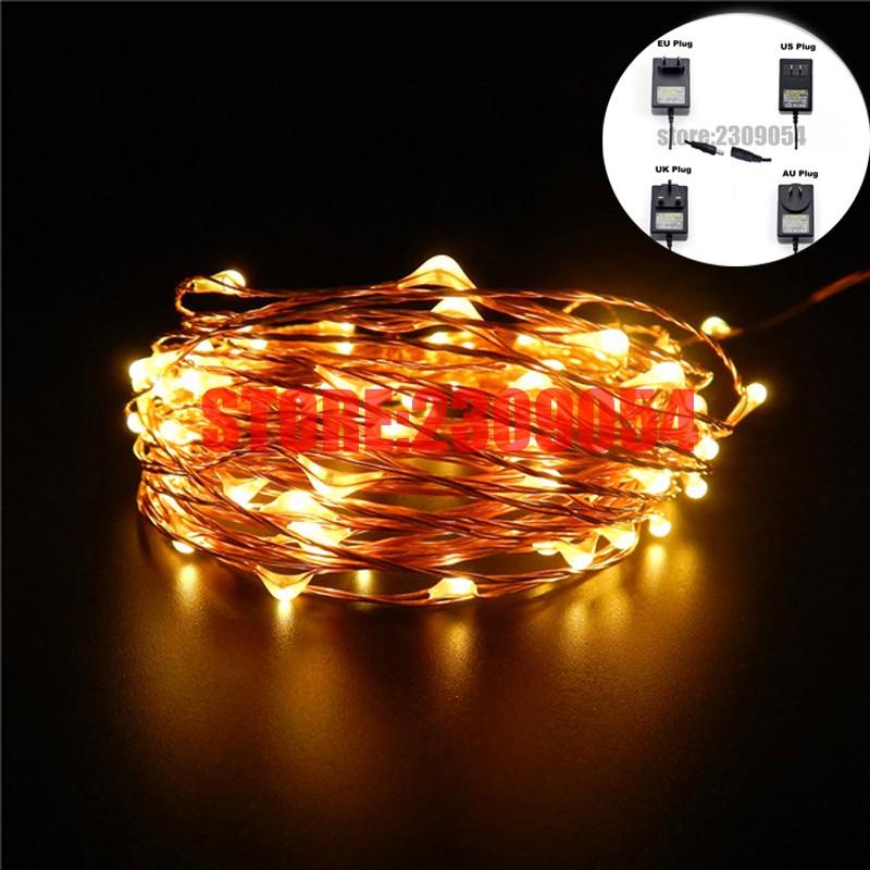 99Ft-30m-300-Leds-Copper-Wire-Warm-White-LED-String-Lights-Starry-Lights-Fairy-lights-12V (5)