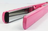 прямо волос Выпрямитель профессиональные Розовый керамические электронные выпрямление волос, выпрямители 1100-240v гофрированного железа