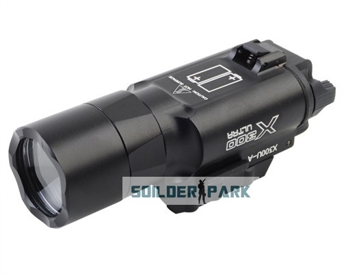 Подствольный оружейный фонарь Element X 300 Weaponlight eX359 Airsoft 15038 element sf m620v scout light led weaponlight flashlight free shipping epacket hongkong post air mail