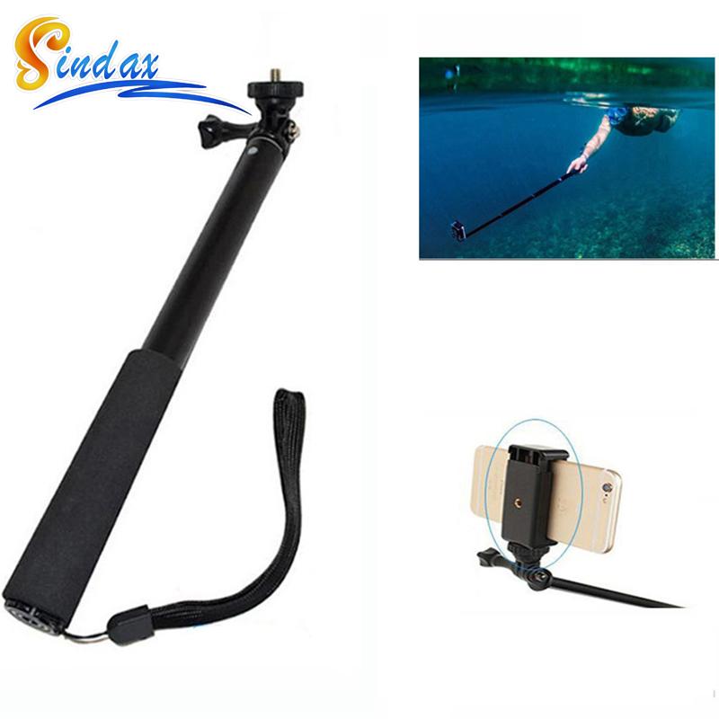 buy waterproof selfie monopod for xiaomi yi extendable handh. Black Bedroom Furniture Sets. Home Design Ideas