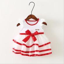 New brand baby Girl Dress Summer Girl Dress Kids Clothes casual Children Dress Princess Party Dresses for Girls vestido infantil(China (Mainland))