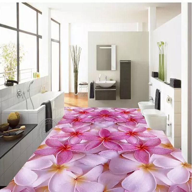 Buy 600x600mm 3d Splice Flower Bathroom