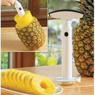 1PC Hot Sale Plastic Fruit Pineapple Corer Slicers Peeler Parer Cutter Kitchen Easy Tool Free Shipping(China (Mainland))