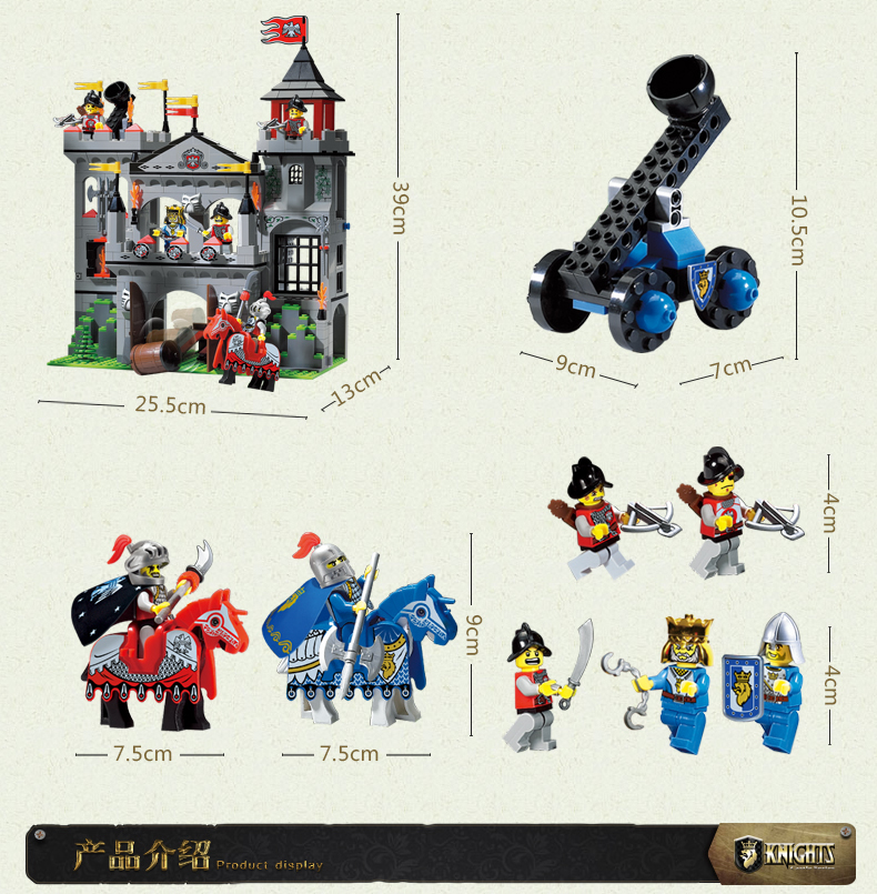constructing block set suitable with lego metropolis eagle fort 3D Development Brick Academic Hobbies Toys for Youngsters