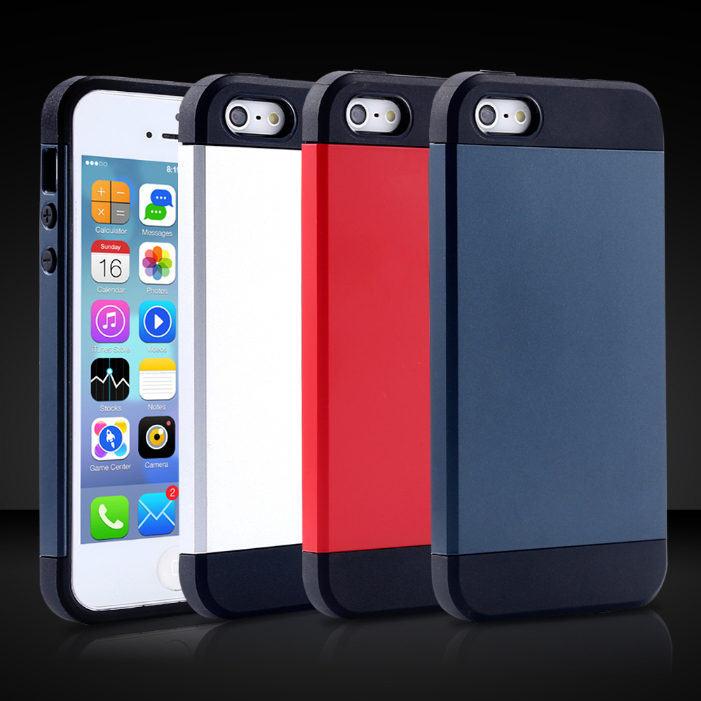 Only $0.99 TPU + PC Hybrid Case For iphone 4 4s Slim Tough Ultra Thin Protective Phone Cover Armor Case for iphone4(China (Mainland))