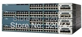 New licensed Cisco WS-C3560X-48P-S 48/10/100/1000 POE Switches +715 power+Intelligent management(China (Mainland))