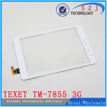 "Original 7.85"" inch touch screen TeXet NaviPad TM-7855 3G Tablet Touch panel Digitizer Glass Sensor Replacement Free Shipping"