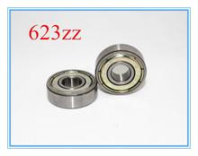 10pcs/lot ABEC-7 623ZZ bearing Miniature deep groove ball bearing 623 2Z ZZ bearing 623Z 3*10*4(China (Mainland))