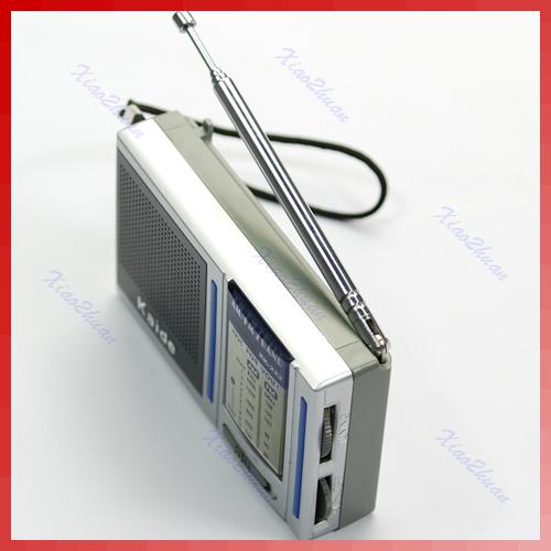Mini Portable AM FM Pocket Radio 2 Bands Receiver DC 3V New