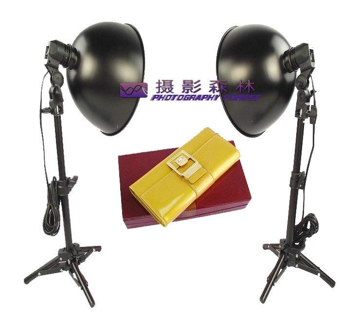 Adearstudio Mini Photo Studio Light Tent Kit Photography light set desktop mount 27cm lamp cover D50(China (Mainland))