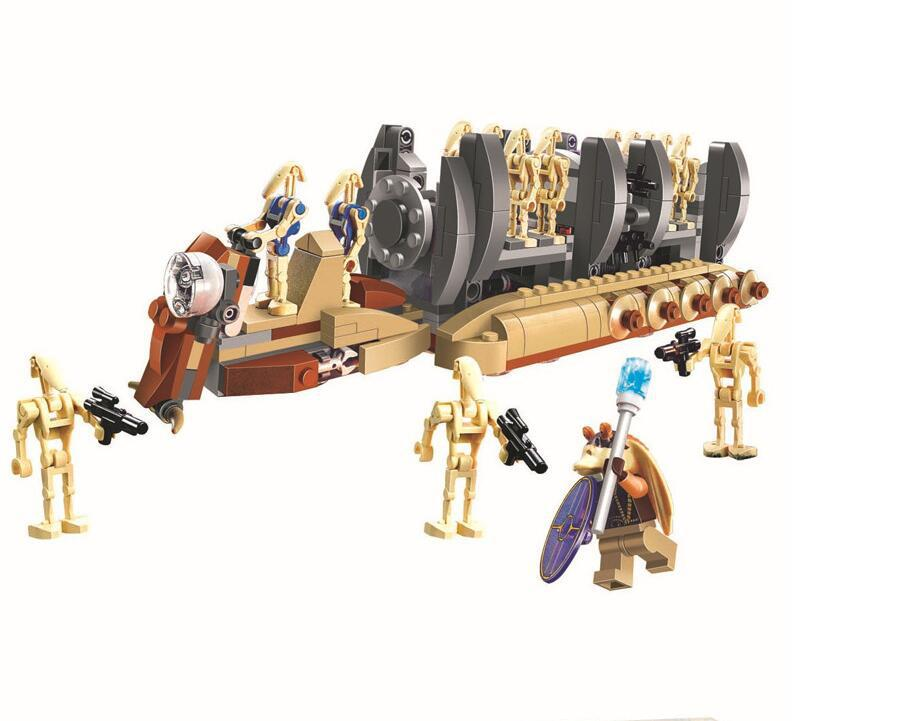 BELA Star Wars battle droid troop carrier Figure toys building blocks set marvel minifigures compatible legoe  -  Cy Super Toys store
