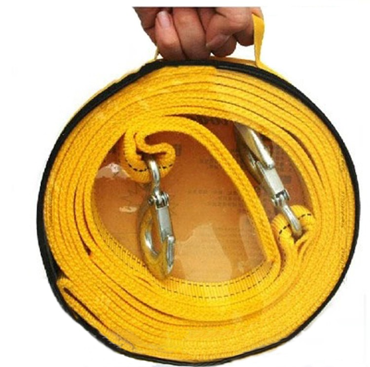 4m Trailer Rope Car Tow Rope Can accept heavy 5 Tons 1pcs/lot(China (Mainland))
