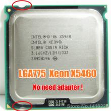 LGA 775 Processore Xeon X5460 3.16 GHz/12 MB/1333 MHz Vicino a Core 2 Quad q9650 funziona su mainboard LGA775 nessun adattatore di bisogno(China (Mainland))