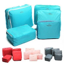 Travel Accessories Travel Package Receive Bag Clothes Luggage Waterproof Korea 5in1 Free shipping BO7035(China (Mainland))