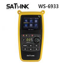 SATLink WS-6933 DVB-S2 DVB-S FTA Satélite Ultra-Compacto Rápida Señal de Satélite Del Metro Del Buscador WS6933 con Brújula Linterna
